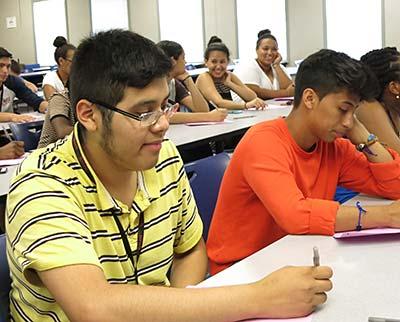 SEBS EOF students attend Summer START-UP program